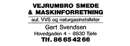 Vejrum Smede & Maskinforretning